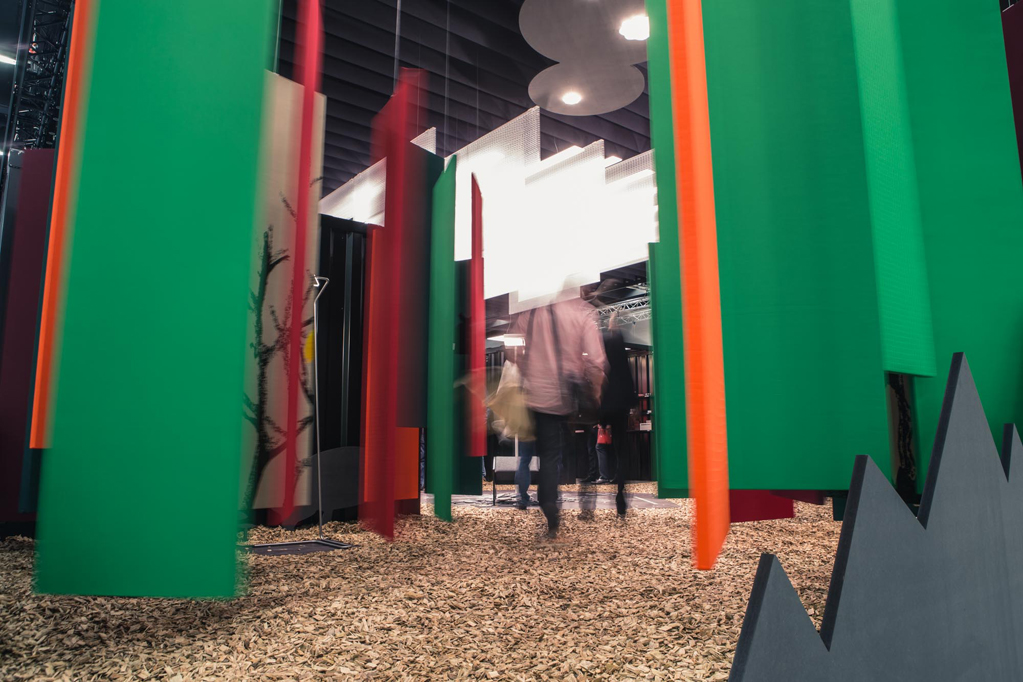 nimbus group auf der orgatec 2014 licht trifft akustik rossoacoustic. Black Bedroom Furniture Sets. Home Design Ideas