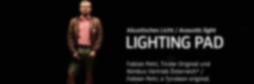 Licht trifft Akustik: das neue Lighting Pad