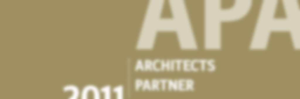 Architects Partner Award 2011 in Silber für die Nimbus Group