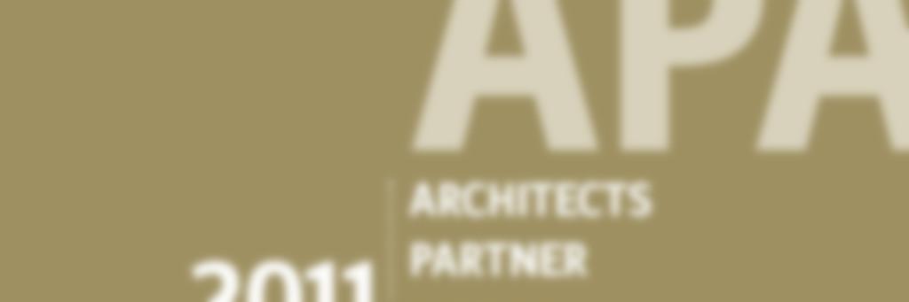 Architects Partner Award 2011 in Silber für die Nimbus Group
