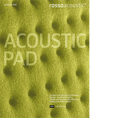 Rossoacoustic PAD Ceiling and Wall System