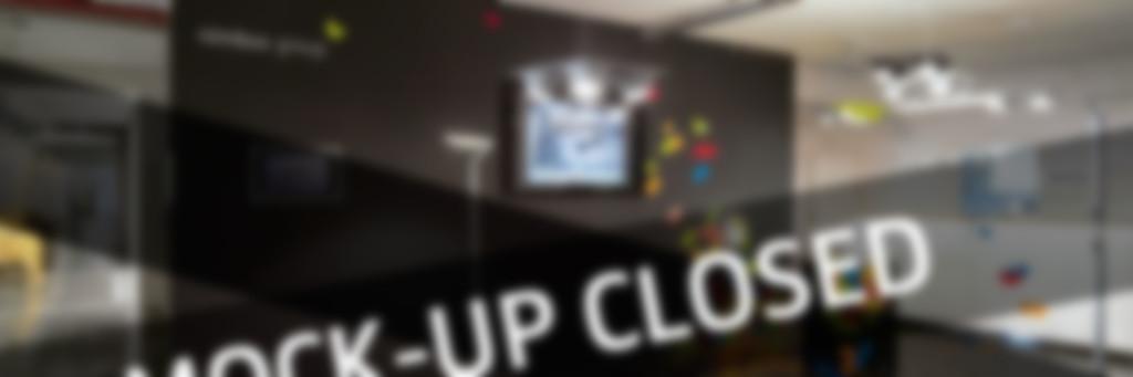 Mock-Up geschlossen