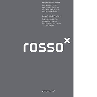Katalog Rosso Profil 22/Profil 33 Vorhang-/Flächenvorhangsystem