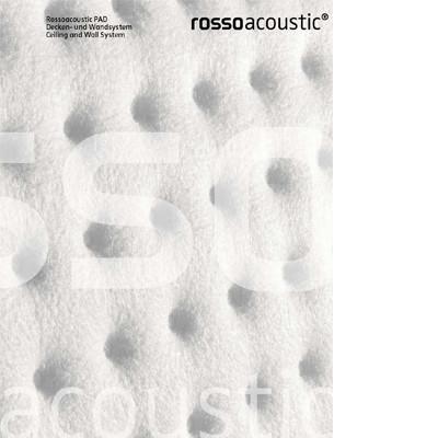 Rossoacoustic Pad Decken- und Wandsystem