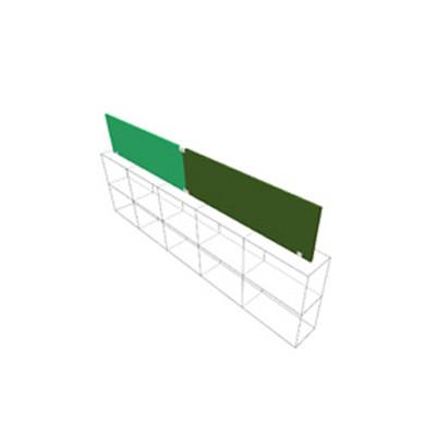 divider on shelf